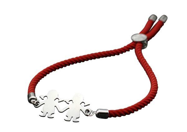 bransoletka na sznurku